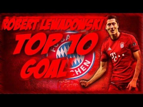 Robert Lewandowski top 10 GOALS EVER HD ● POLAK RODAK