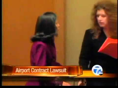 Airport contract lawsuit