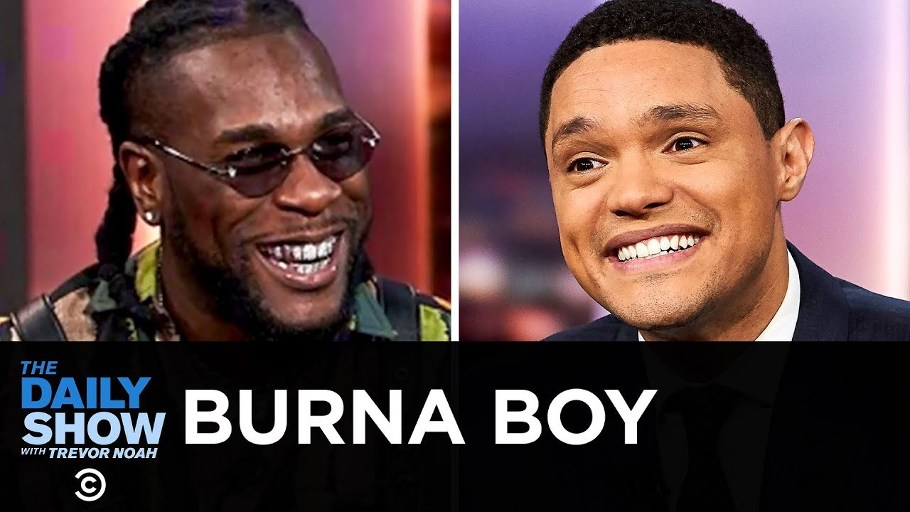 """Burna Boy - Serving Up Afrofusion with """"African Giant""""   The Daily Show"""