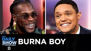 "Burna Boy - Serving Up Afrofusion with ""African Giant""  