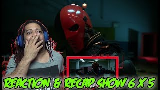 "ARROW Season 6 Episode 5 Reaction & Recap Show! (""Deathstroke Returns"")"