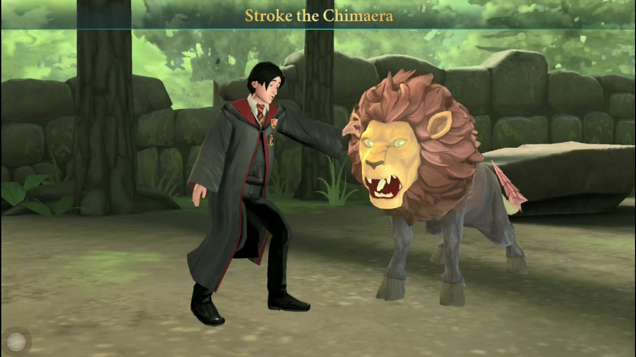 Harry Potter Hogwarts Mystery Chimaera Care Of Magical Creatures Class Youtube