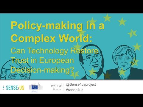Sense4us: Co-creation and innovation - building trust through participatory design