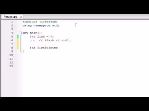 Buckys C++ Programming Tutorials - 38 - Introduction to Pointers