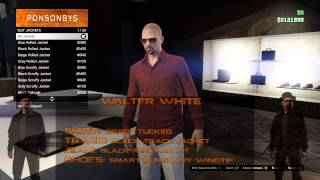 Grand Theft Auto Online: How to Create (Tony Montana, Walter White & Big Smoke)