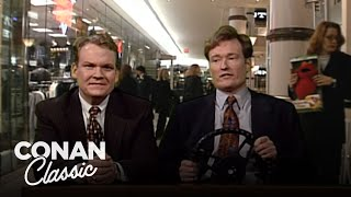 "Christmas Shopping: Desk Drive - ""Late Night With Conan O'Brien"""