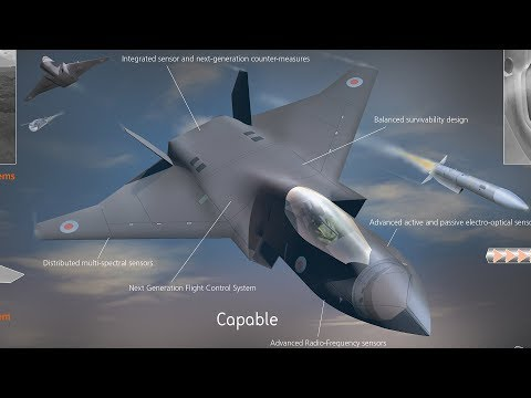 UK Unveils SIXTH-GENERATION FIGHTER Concept - YouTube