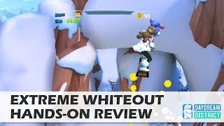 Downhill Skiing in VR! - Extreme Whiteout for Daydream VR Hands-On Review