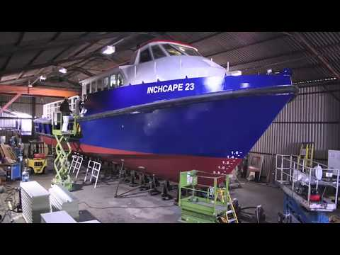 23 metre work boat aluminum time lapse build