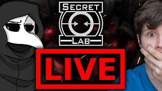 Granie w SCP Secret Laboratory z Widzami! - Na żywo