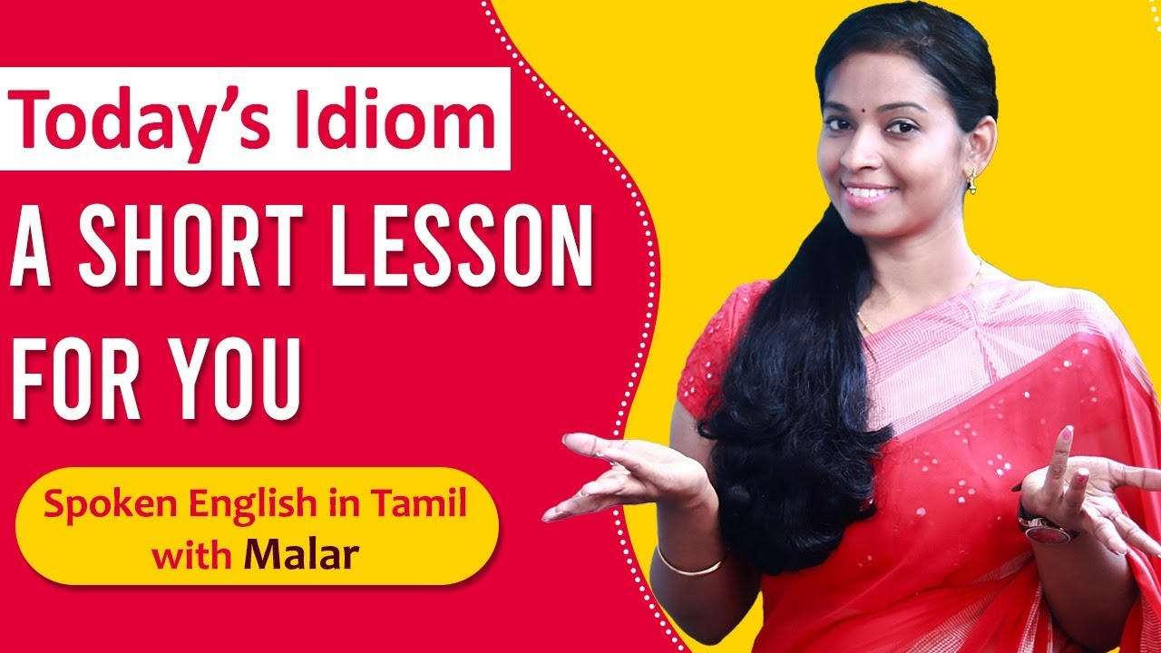 Simple but most important English idiom you should know ! | Spoken English in Tamil | Kaizen English