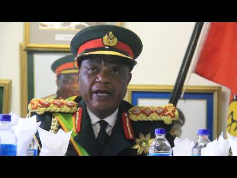 ZDF stand by President, says General Chiwenga