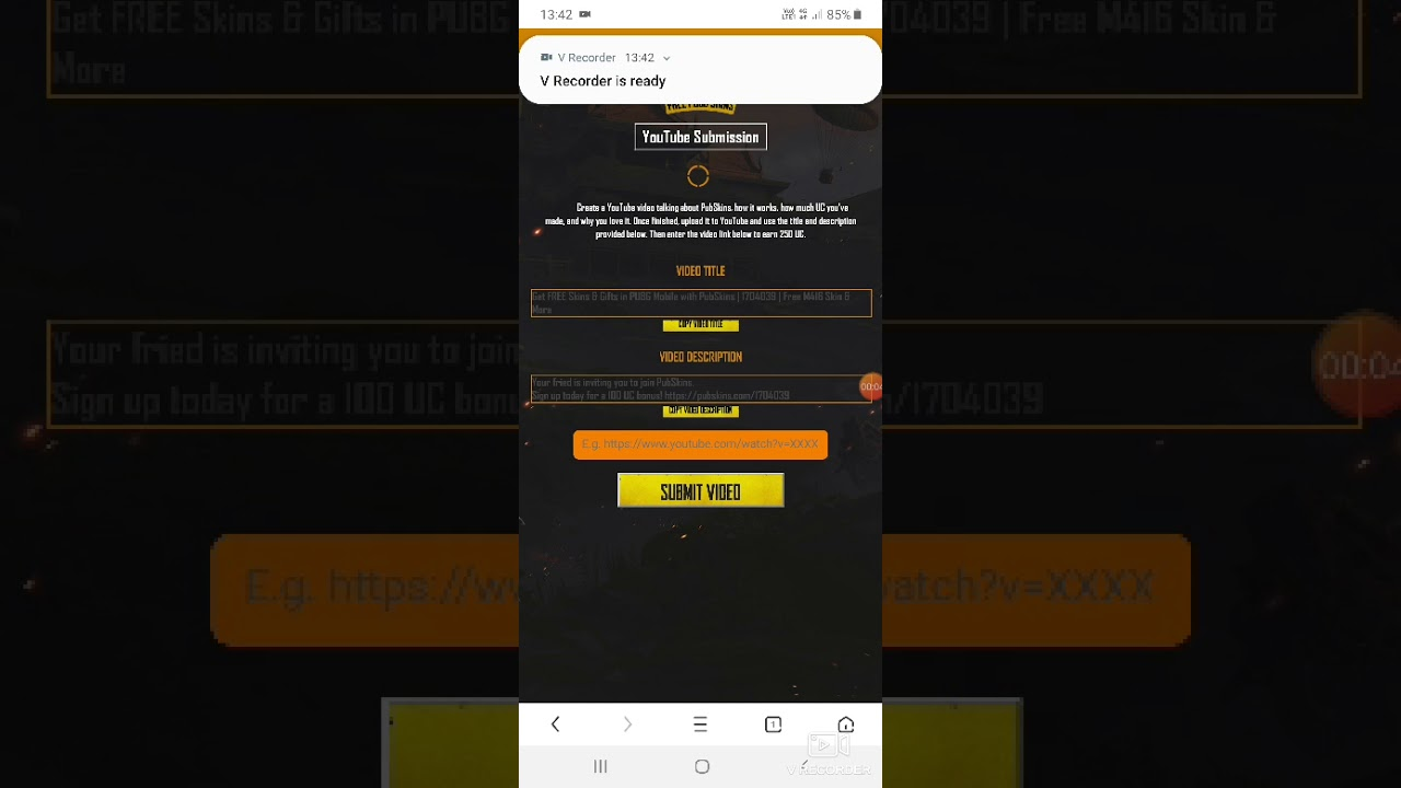 Get FREE Skins & Gifts in PUBG Mobile with PubSkins | 1704039 | Free M416  Skin & More