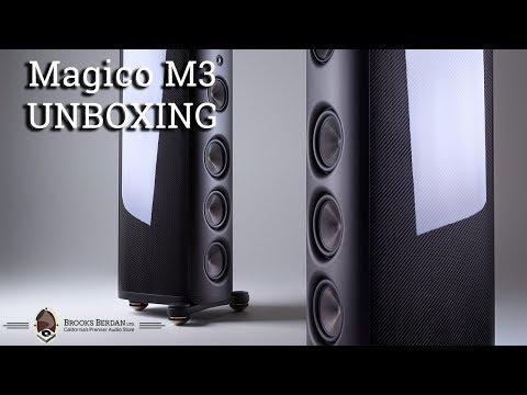 Magico M3 Speaker UNBOXING & REVIEW - Brooks Berdan Ltd.