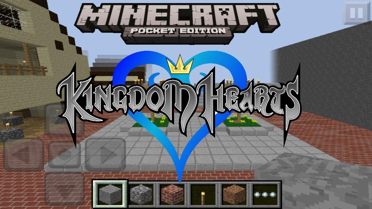 Minecraft Pocket Edition Map Showcase: Kingdom Hearts