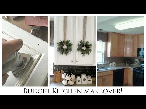 Our $1600 Budget Kitchen Remodel