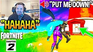 CouRage *FUNNIEST* WAY To TROLL PLAYERS in Chapter 2! (Fortnite)