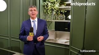 Eurocucina FTK 2018 | L'OTTOCENTO - Mariano Campagnolo presenta Chronos