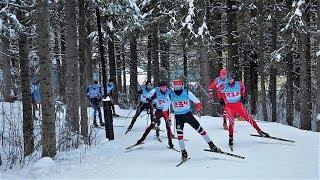 На первенстве Югры по лыжным гонкам трассу намеренно усложнили