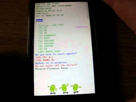 HTC Desire HD - Rom flashen via Bootloader