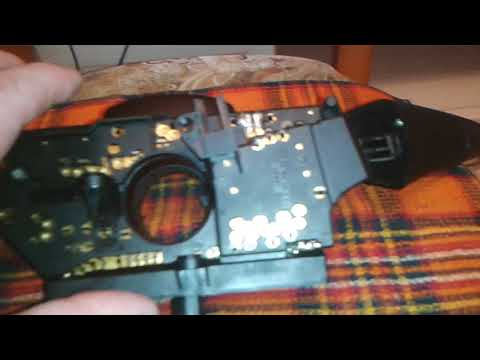 Ремонт переключателя света фар МБ Вито 638.