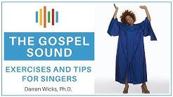 Gospel Voice Technique 🎤Tips and exercises for singers 🎤