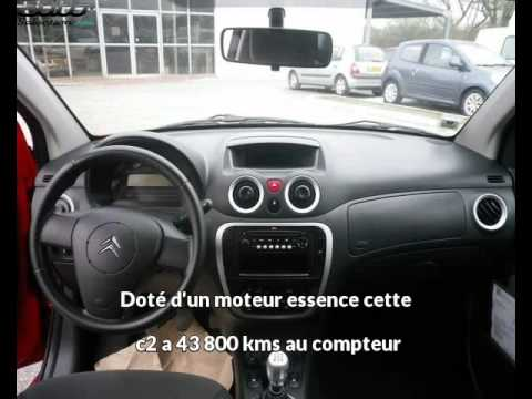 citroen c2 occasion visible merignac pr sent e par renault cap services youtube. Black Bedroom Furniture Sets. Home Design Ideas