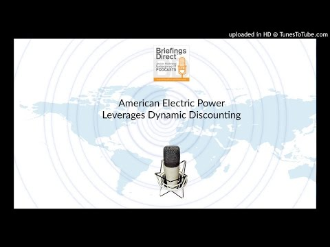 American Electric Power Drives Efficiency and Innovation with Network-Based Dynamic Discounting