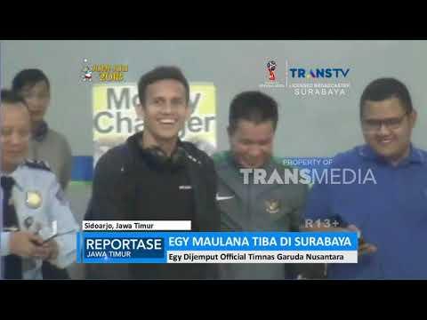 Siap Gabung Timnas U-19, Egy Maulana Tiba di Surabaya