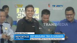 Video Siap Gabung Timnas U-19, Egy Maulana Tiba di Surabaya download MP3, 3GP, MP4, WEBM, AVI, FLV Juli 2018