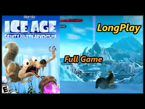Ice Age Scrat's Nutty Adventure - Longplay Full Game Walkthrough (No Commentary)