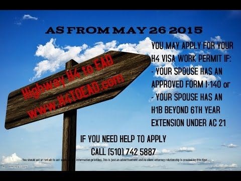 H4 EAD Visa questions - how to apply - live radio show by Shah Peerally