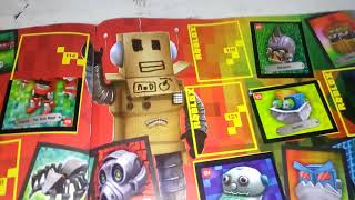 L'album de roblox et figurines