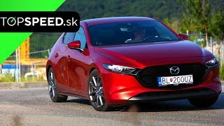 2019 Mazda 3 test - Alex ŠTEFUCA TOPSPEED.sk