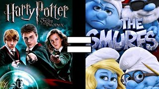 24 Reasons Harry Potter and the Order of the Phoenix & The Smurfs Are The Same Movie