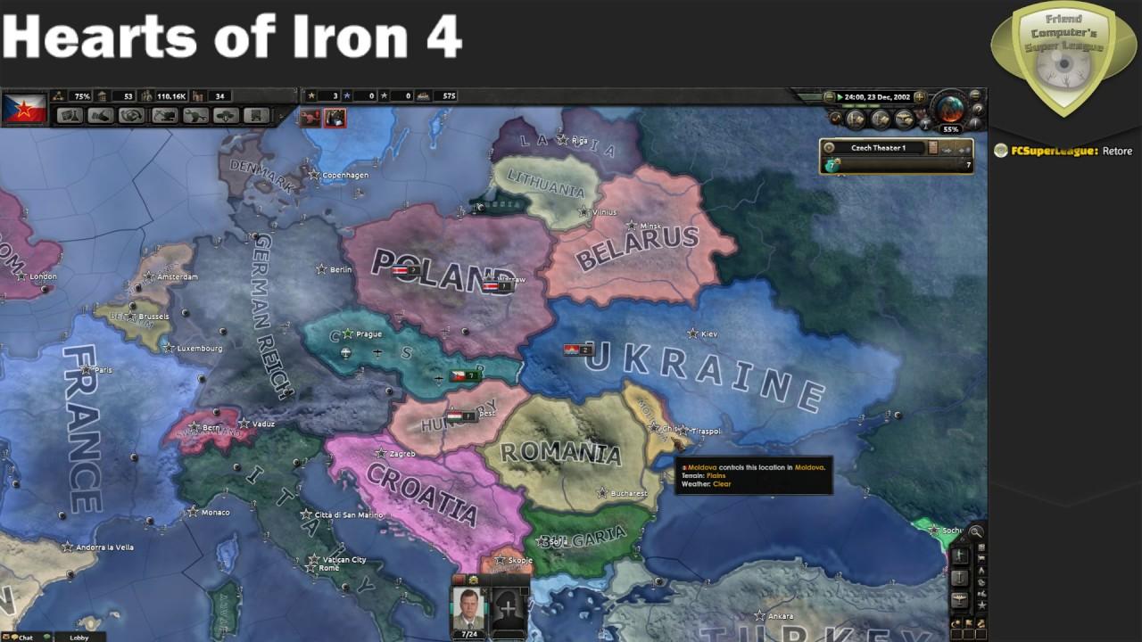 Hearts Of Iron 4 Millenium Dawn Multiplayer Czech Republic