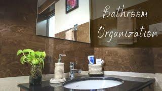 Bathroom Organization - Bathroom Storage Tips