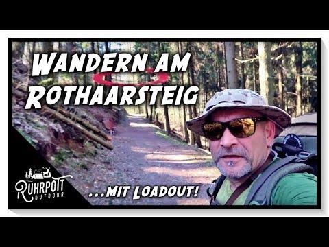 Wandern am Rothaarsteig mit Loadout - #1 - Ruhrpott Outdoor 1815