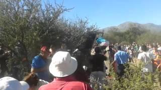 Accidente rally argentina tramo capilla del monte