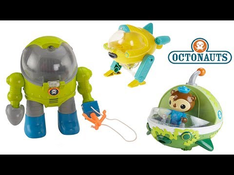 LOTS OF OCTONAUTS TOYS TALKING KELP CAMOUFLAGE GUP E, GUP U & KWAZII, OCTO MEX SUIT, GUP X, PLAY-DOH