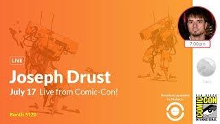 ZBrush 2019 - Joseph Drust Live from San Diego Comic-Con 2019!