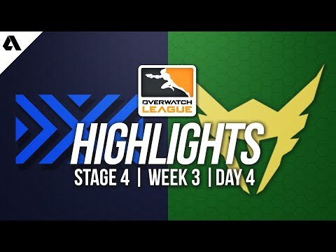New York Excelsior vs Los Angeles Valiant | Overwatch League Highlights OWL Stage 4 Week 3 Day 4 thumbnail