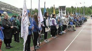 В Ханты-Мансийске пара-спортсмены исполнили гимн России на языке жестов