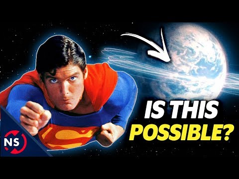 THEORY: Could SUPERMAN Actually Reverse the Earth's Spin and Turn Back Time? 🌎 || NerdSync