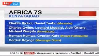 Kenya 7S Squad For Tunisia named