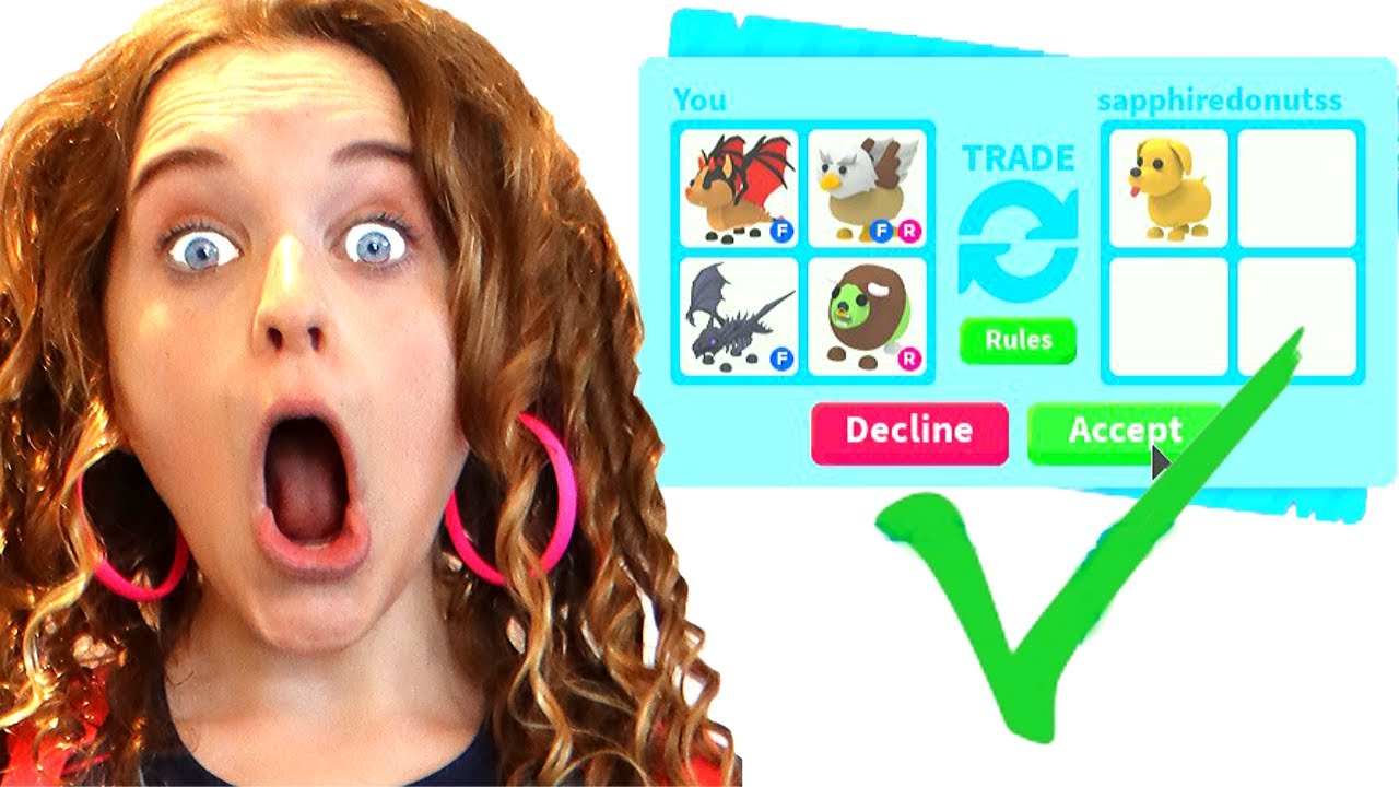 ONLY TRADING PETS in Adopt Me Roblox Gaming w/ The Norris Nuts