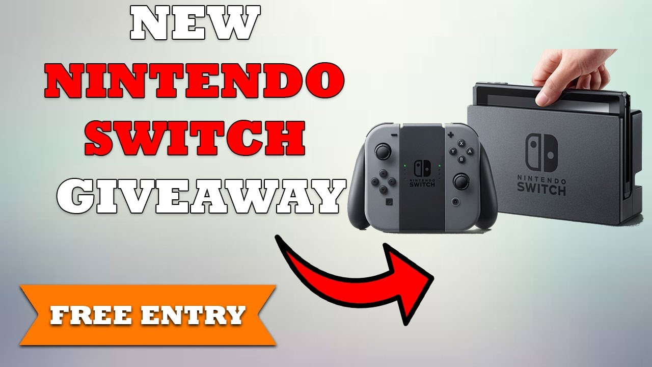 nintendo switch free giveaway free nintendo switch giveaway how to win a free nintendo 2764