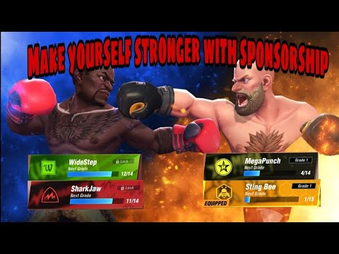 Boxing Star// HOW TO GET SPONSORSHIP