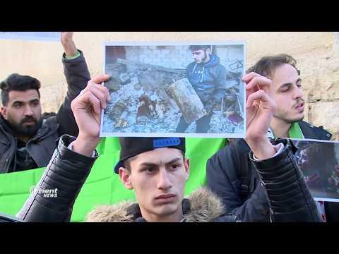 الأردن.. اعتصام أمام مبنى الامم المتحدة تضامناً مع الغوطة الشرقية  - نشر قبل 18 ساعة