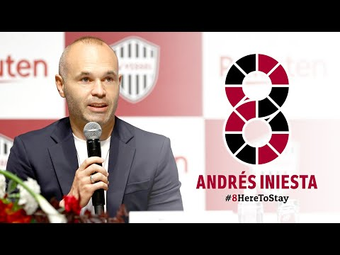 アンドレス イニエスタ選手 契約更新についての記者会見|Press Conference regarding Andres Iniesta